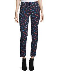 Rebecca Taylor - Blue Sakura Floral Pants - Lyst