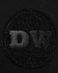 Daniel Won Black Logo-patch Straight-leg Sweatpants for men