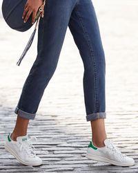 Adidas Originals Multicolor Stan Smith Snake-cut Leather Sneaker