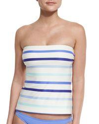 kate spade new york | White Provincetown Bow-back Bandini Swim Top | Lyst