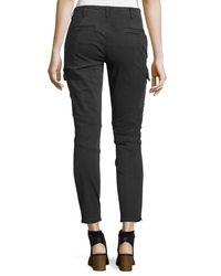 J Brand - Green Houlihan Skinny Cargo Ankle Pants - Lyst