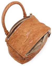Givenchy - Brown Pandora Small Leather Shoulder Bag - Lyst