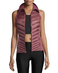 Alo Yoga | Black Altitude Performance Puffer Vest | Lyst