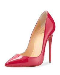 Christian Louboutin | So Kate Patent 120mm Red Sole Pump | Lyst