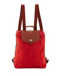 Longchamp | Blue Le Pliage Nylon Backpack | Lyst