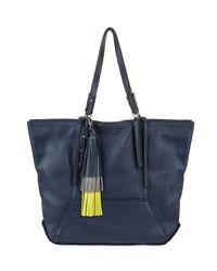 Kooba | Blue Marlowe Leather Tote Bag | Lyst