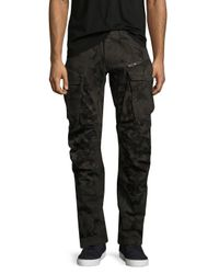 G-Star RAW   Black Rovic 3d Tapered Jeans for Men   Lyst