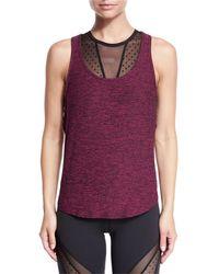 Beyond Yoga   Black Crisscross-side Jersey Muscle Tank Top   Lyst