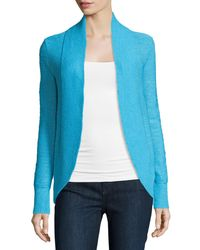 Lilly Pulitzer | Blue Amalie Long-sleeve Open Cardigan | Lyst