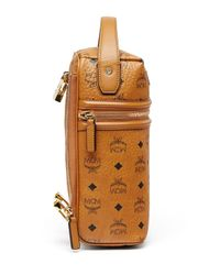 MCM - Brown X Cr Collection Visetos Top-handle Jet Pack for Men - Lyst