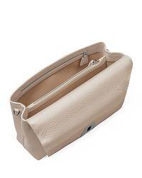 Akris - Natural Leather Chain-strap Flap Bag - Lyst