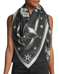 Givenchy - Multicolor Star Silk-blend Pashmina - Lyst