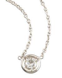 Roberto Coin | Metallic Diamond-station Necklace | Lyst