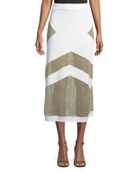 Tabula Rasa - Multicolor Sankore High-waist Knit Midi Skirt - Lyst