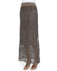 XCVI - Multicolor Cecilia Crochet Skirt - Lyst