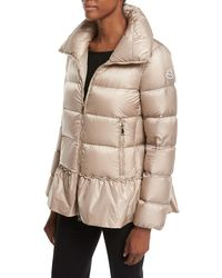 Moncler Natural Anet Quilted Jacket