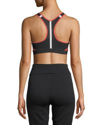 Nike Red Motion Adapt High-support Sports Bra