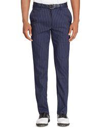 Ralph Lauren - Blue Men's Usa Ryder Cup Pinstriped Twill Golf Pants for Men - Lyst