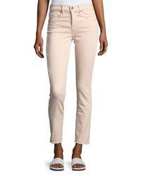 Vince Multicolor Skinny Crop Straight-leg Jeans