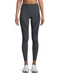Alo Yoga - Black Vapor High-waist Performance Leggings - Lyst