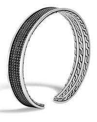 John Hardy - Black Men's Classic Chain Jawan Cuff Bracelet for Men - Lyst