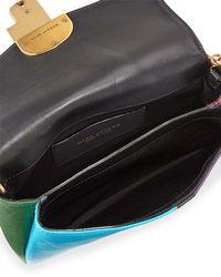 Marc Jacobs - Multicolor St. Marc Colorblock Clutch Bag - Lyst