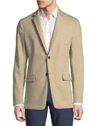 Theory - Natural Simon Compact Stretch-cotton Blazer for Men - Lyst