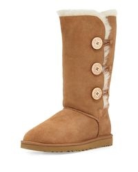 Ugg - Brown Bailey Bttn Tall Triple Boot - Lyst