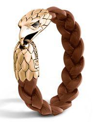 John Hardy | Multicolor Men's Bronze Eagle Head Bracelet for Men | Lyst
