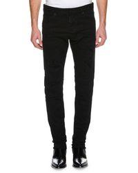 DSquared² Black Men's Cool Guy Distressed Slim-fit Jeans for men