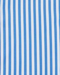 Kiton Bengal-stripe Dress Shirt, Blue/white for men