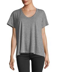 The Great Gray The U-neck Jersey Tee