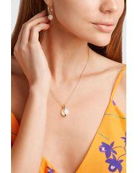 Ippolita Metallic Senso 18-karat Gold, Mother-of-pearl And Diamond Necklace