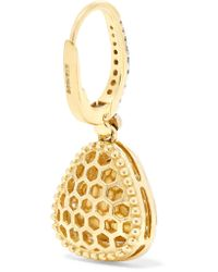 Amrapali - Metallic 18-karat Gold Diamond Earrings - Lyst