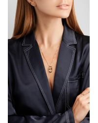 Ana Khouri Metallic Wish 18karat Gold Diamond Necklace