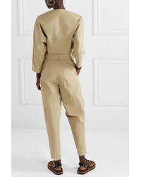 Combi-pantalon En Popeline De Coton Mélangé À Ceinture 3.1 Phillip Lim en coloris Natural