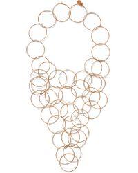 Stella McCartney - Metallic Gold-tone Necklace - Lyst