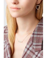 Jennifer Meyer - Metallic 18-karat Gold, Diamond And Turquoise Necklace - Lyst