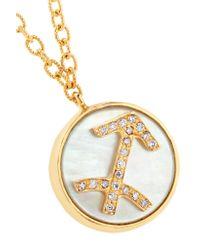 Carolina Bucci - Metallic Sagittarius Lucky 18-karat Gold Multi-stone Necklace - Lyst