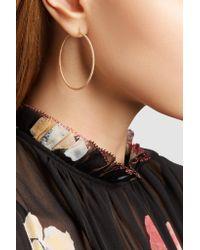 Carolina Bucci | Metallic Florentine 18-karat Rose Gold Hoop Earrings | Lyst