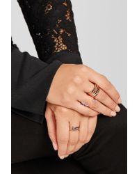 Repossi - Multicolor Antifer 18-karat Rose Gold Ring - Lyst