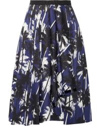 Jason Wu - Blue A Line Skirt - Lyst
