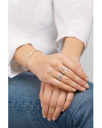 Anita Ko - Pear Saturn 18-karat White Gold Diamond Ring - Lyst