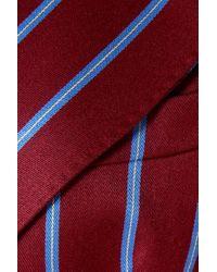Giuliva Heritage Collection Red Stella Doppelreihiger Blazer Aus Wolle Mit Streifen