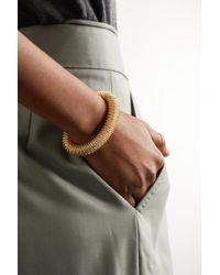 Carolina Bucci Metallic K.i.s.s. Large Armband Aus 18 Karat Gold Und Weißgold