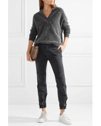By Malene Birger - Gray Zonia Knitted Sweater - Lyst