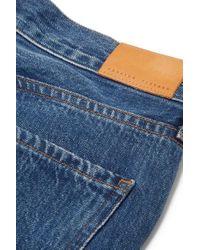 Citizens of Humanity Blue Charlotte Hoch Sitzende Jeans Mit Geradem Bein