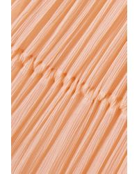 Chloé Pink Maxikleid Aus Besticktem Seidenkrepon