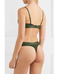 Calvin Klein Green String Aus Stretch-jersey