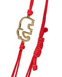 Yvonne Léon Metallic 18-karat Gold Diamond Bracelet Gold One Size